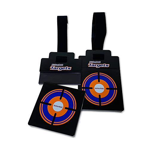 Kickerball Breakaway Targets - Magnetic Breakaway Accuracy Targets, for Soccer, Baseball, Football, Hockey, and Other Sports, Easy Attachment, Hooks onto Any Goalpost