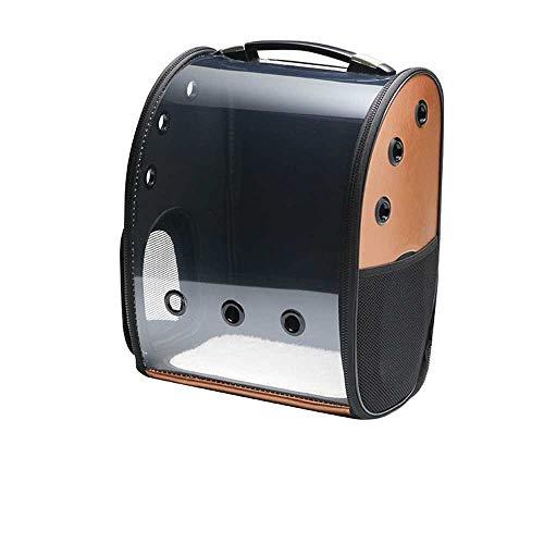 KaAlin huisdier tas uit draagbare transparante ademende rugzak kat rugzak ruimte tas reizen opvouwbare hond rugzak