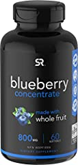 Made from U.S. grown Organic Blueberries containing Flavonoids & Anthocyanins Provides some of the same benefits as whole Blueberries without the Sugar, Carbohydrates or Calories Non-GMO and Gluten Free. Formulated without additives, fillers, soy, ar...