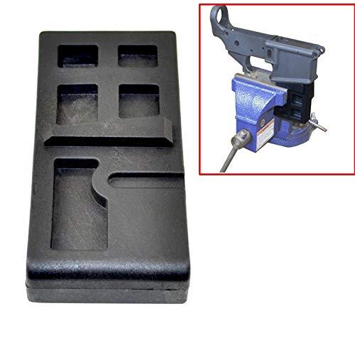 XFB-Werkzeug, Tactical 223/5,56 AR Lower Vise Block-Receiver Gunsmithing aromer Werkzeug for die Reinigung Reparatur von Jagdzubehör