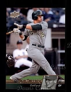 2010 Upper Deck # 356 Ryan Sweeney Oakland Athletics (Baseball Card) Dean's Cards 8 - NM/MT Athletics