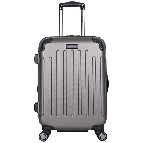 """Kenneth Cole Reaction Renegade 20"""" ABS Expandable 8-Wheel Carry-On, Silver, inch"""