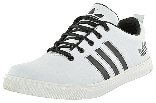 Scion Men's White Casual Canvas Sneaker Shoes