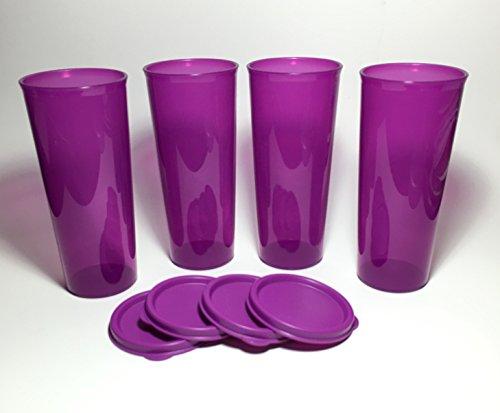Tupperware Tumbler Set 16 Oz Purple