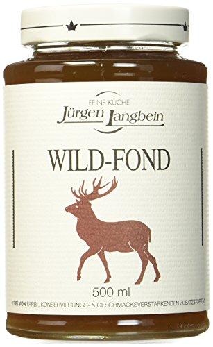 Langbein Wild - Fond, 3er Pack (3 x 500 ml)