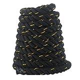 Welltobuy Cuerda de batalla para entrenamiento de fuerza y gimnasio para muñeca, cuerda de batalla de poder, entrenamiento de fitness, ejercicio en interiores y exteriores