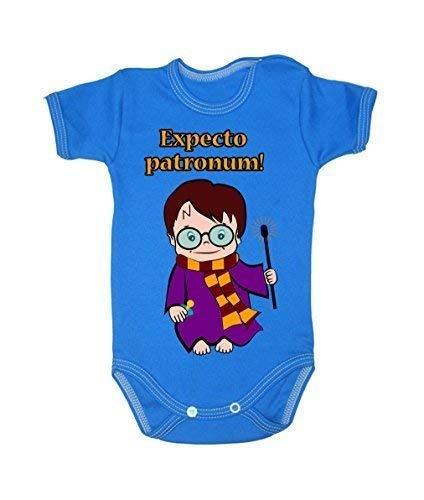 Colour Fashion Harry Sorcier Wizard Potter Expecto Patronum ! Garçon Fille Unisexe Combinaison Manche Courte 100% Cotton Petit Bébé - 24 Mois 0020 - Rouge, 12-18 Months, 86 cm