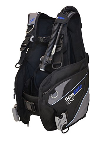 Divers Supply Scuba Package Special of The Month(Large/Puck Pro Plus Black)