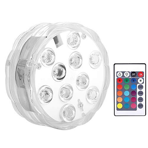 T angxi Luces de Piscina de Colores RGB, luz de decoración con Pilas con IP68 a Prueba de Agua para Suministros de iluminación de luz de Acuario
