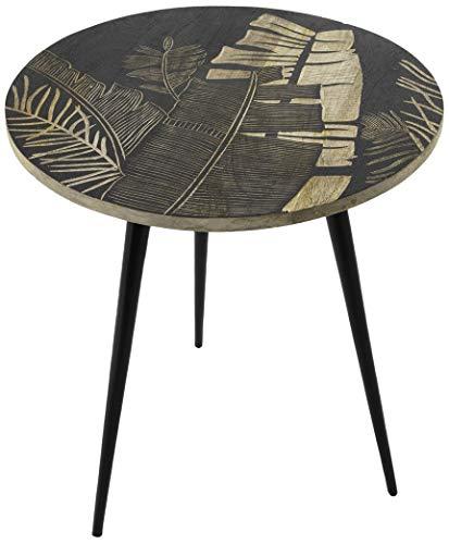 Amadeus - Table Basse gravée diamètre 50 cm