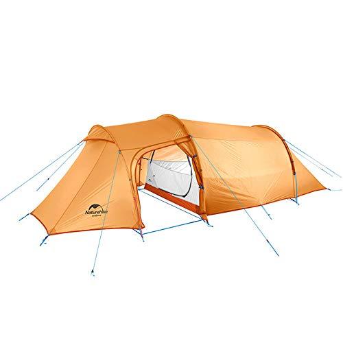 Naturehike(ネイチャーハイク) トンネルテントOPALUS 2ルームハウス 4シーズン 超軽量バックパックテント アウトドアスポーツキャンプ用 2人用 3人用 4人用が選べます