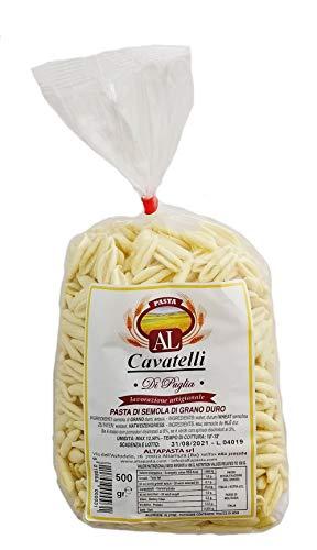 Frische Cavatelli Nudeln aus Italien 500g - trafila in bronzo - cavo pasta - capunti - kleine muschelförmige Nudeln