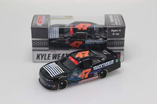 Lionel Racing Kyle Weatherman 2020#BacktheBlue 1:64 Nascar Diecast