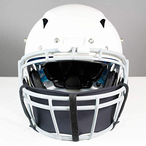 Grid-D-Flect Performance Mask(Football & Lacrosse Helmet Compatible) - a Durable 5 Way Adjustable Performance mask with Mouth and Nose Coverage That Allows Maximum Airflow and Breath-Ability
