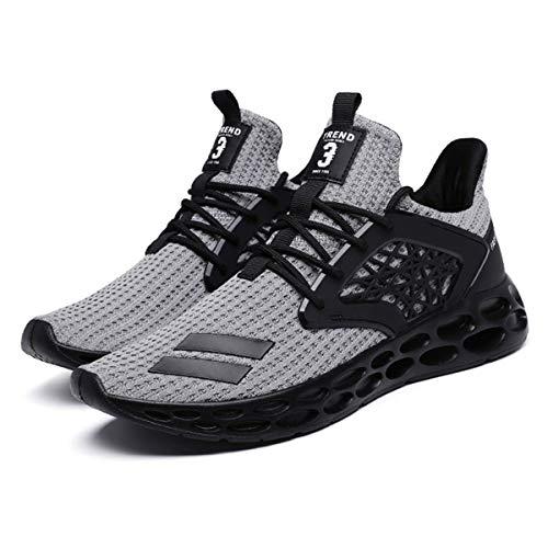 Nihlsen Zapatillas de deporte transpirable de la PU de los hombres de las zapatillas de deporte de la calle