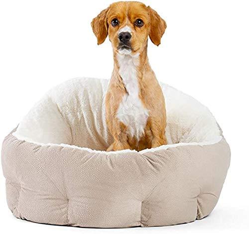 Wuudi Panier universel amovible et lavable pour chien et chat quatre saisons pour chiens de petite et moyenne taille Deux couleurs disponibles