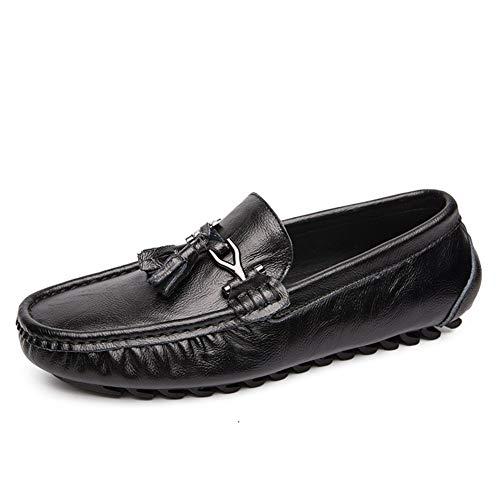 Zapatos de hombre de cuero, casual, vestido formal LOAFER POR HOMBRES ZAPATOS DE BARCO PRODUCTOS REDONDOS PRODUCTOS REDONDO EN CUERO SINTÉTICO Ligero Acogedor Costura transpirable Anti resbalón Sole S