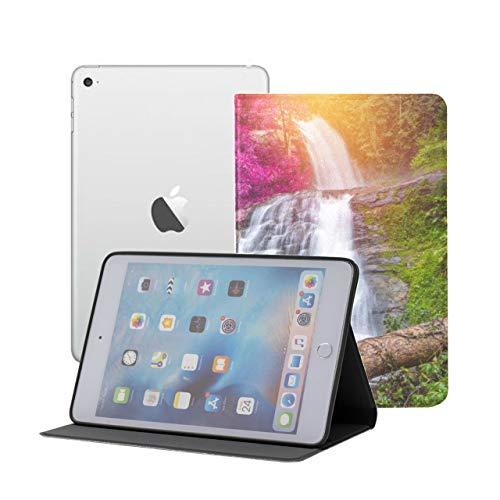JEOLVP Mini Custodia per iPad per Bambini Bellissime cascate nella Giungla Custodia per iPad Mini per Ragazze iPad Mini 1 2 3 Auto Sleep Wake con Visione Multi-Angolo per iPad Mini 3   Mini 2