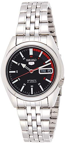 Seiko Men's SNK375K Automatic Stainless Steel Watch