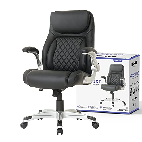 NOUHAUS +Posture Ergonomic PU Leather Office Chair