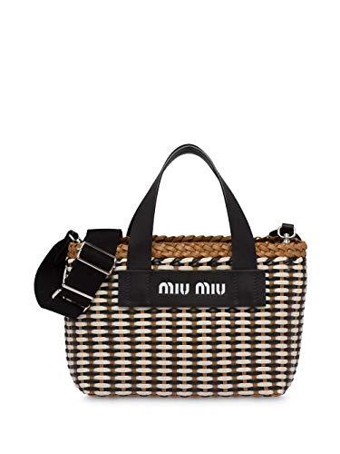Miu Miu Luxury Fashion Damen 5BA077VOI32BU1F0Z40 Multicolour Polyurethan Handtaschen | Frühling Sommer 20