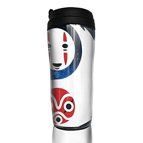 Unisex Yin Yang No Face ss Mononoke Studio Ghibli inspirado taza de café talla única