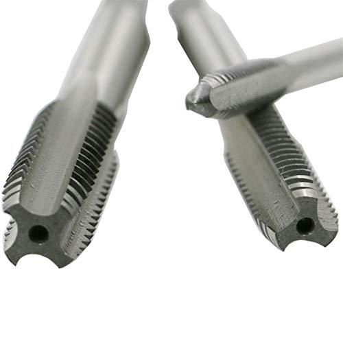 kengbi bit de la perforación del refrán Nuevo 7 unids/Conjunto de Acero de Acero HSS M3-M12 Máquina Punto en Espiral Punto de Tornillo Estriado Recto Taladro de Grifo de Mano