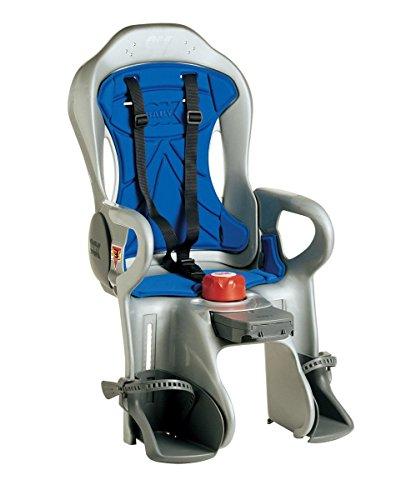 Ok Baby Seggiolino posteriore reclinabile Sirius, Argento/Blu