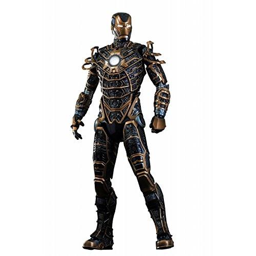Hot Toys Movie Master Piece - Figurina Iron Man 3: Mark 41 XLI Bones