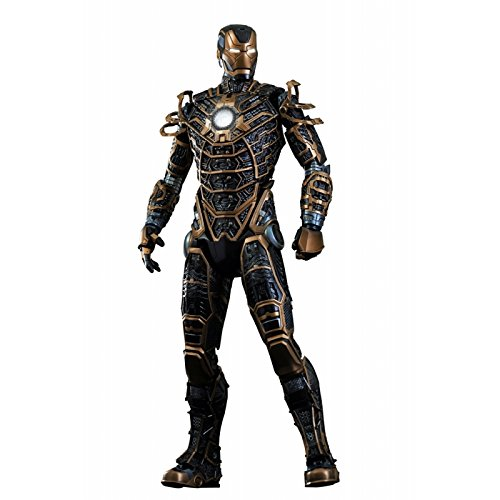 "Hot Toys 1:6 Scale ""Iron Man Mark XLI Bones Movie Masterpiece Series"" Figurine"