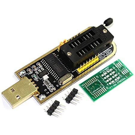 Tecnoiot Ch341 A 24 25 Series Eeprom Flash Bios Computers Accessories