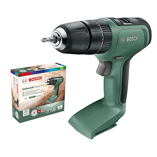 Bosch Cordless Hammer Drill UniversalImpact 18 (Without Battery, 18 Volt System, in Cardboard Box)
