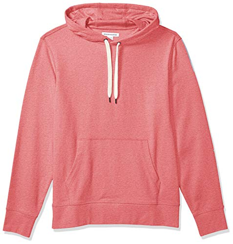 Amazon Essentials Sudadera Ligera de Felpa Francesa con Capucha. Fashion-Hoodies, Rojo desteñido, US M (EU M)