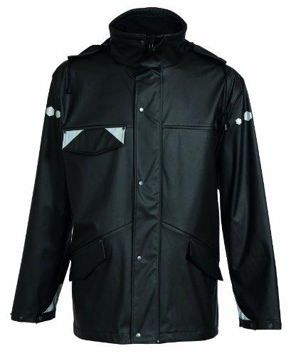 Dry Zone ELKA Regenschutzjacke PU/Polyester schwarz Gr.XL