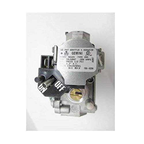upgraded replacement for gemini furnace gas valve 36g22 209