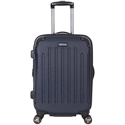 Kenneth Cole Reaction Renegade 20' ABS Expandable 8-Wheel Carry Luggage, Navy, inch