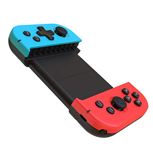 Gamepad Bluetooth senza fili – Controller per smartphone, telefono cellulare espandibile, joystick controller per giochi per smartphone iOS e Android