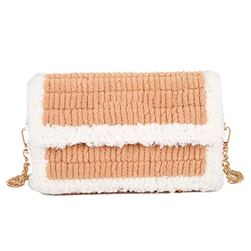 Lheng DIY bolsos tejidos a mano, monedero de moda, bolso de Crossbody de moda material para monedero hecho a mano DIY