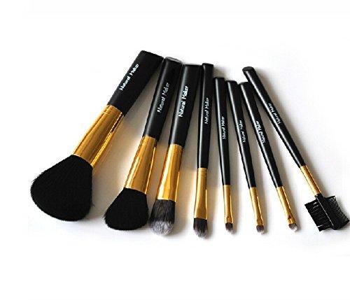 Ensemble de 8 professionnel pinceau maquillage / joli pinceaux, noir