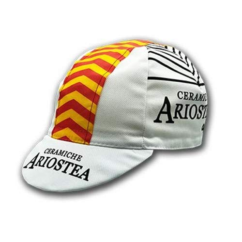 Apis Cappellino Ciclismo Team Vintage ARIOSTEA Cycling cap HOSTED BY PRO' Line