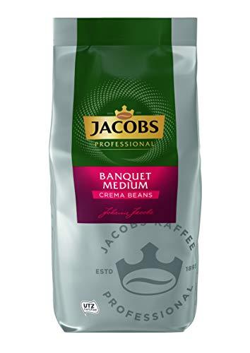 Jacobs Professional Banquet Medium Café Crème Kaffeebohnen, 1 kg
