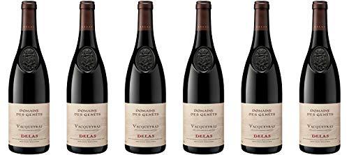 Delas Frères Vacqueyras Domaine des Genêts Rhône 2018 Wein (6 x 0.75 l)