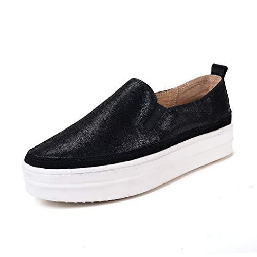 Dames Platform Instappers Loafers Mode Ronde Neus Klimplanten Schoenen Lente Ondiepe Mond Dikke Sneakers Ademende Wandelschoenen