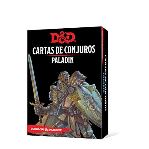 Dungeons & Dragons Paladin-Cartas de Conjuros-Castellano, Color (Edge Entertainment EEWCDD86)