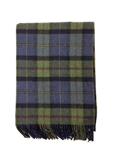 McLaughlin's Irish Shop Gewebte Irische Wolldecke aus 100% Lammwolle im traditionellen Muster