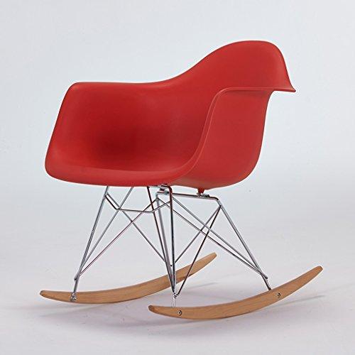 CKH balkon schommelstoel volwassen ligstoel vrije tijd stoel Eames terug schommelstoel gemakkelijk stoel Luie stoel