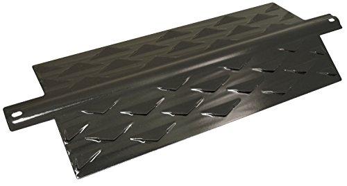 Music City Metals 96411 Hitzeschild aus emailliertem Stahl für Gasgrills der Marken Blooma/Ohio/Outback und Sahara - Schwarz
