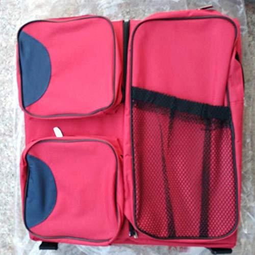 George zhang Nouveau-né lit de Voyage Portable Voyage Sac lit Berceau Sac de Maman Berceau (Pliant 40 * 40 * 15 cm, dépliant 70 * 40 * 20 cm),Red
