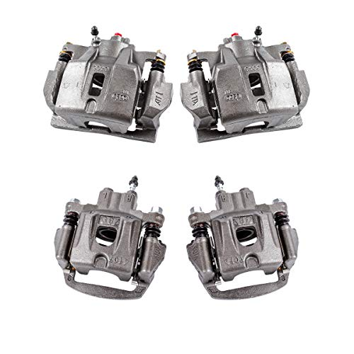 Callahan CCK04159 [4] FRONT + REAR Premium Semi-Loaded Original Calipers + Hardware Brake Kit