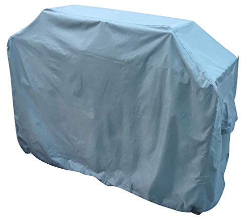 Kingsbridge BBQ Cover 58 Inch/147cm Waterproof 600D Heavy Duty Fabric-Double Stitching-UV Protection-Breathable
